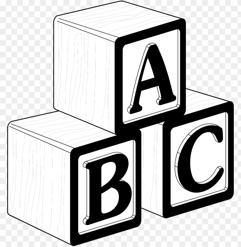 free PNG clip art free library blocks clipart black and white - baby blocks clip art black and white PNG image with transparent background PNG images transparent