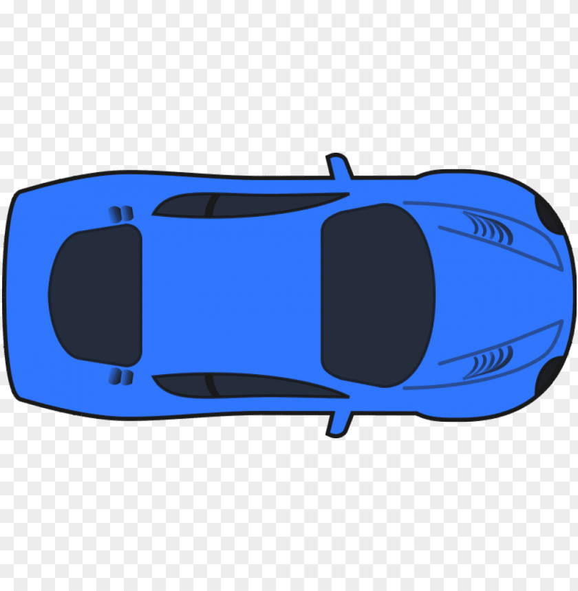 free PNG clip art, illustration car, light car, blue, new car, - cartoon car birds eye view PNG image with transparent background PNG images transparent
