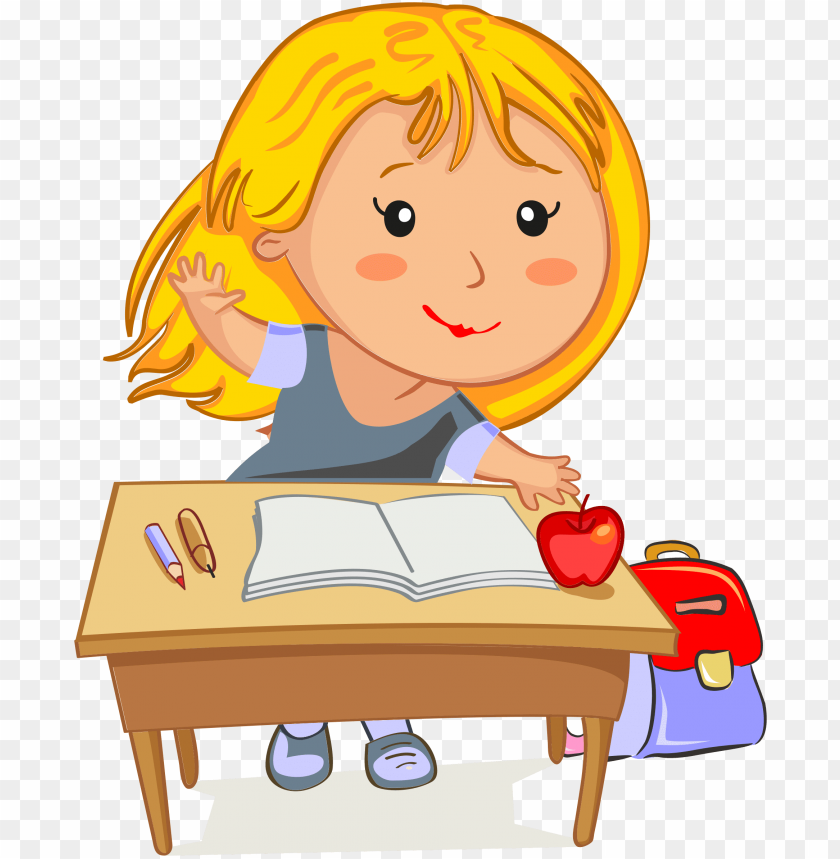 free PNG clip art illustration of a beautiful girl blowing a - girl in school clip art PNG image with transparent background PNG images transparent