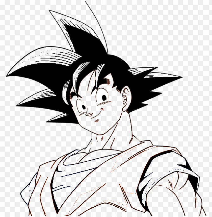 Printable Goku Coloring Pages For Kids | 859x840