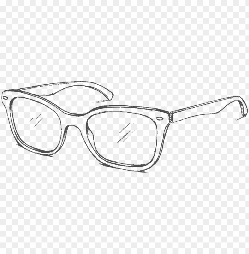 free PNG clip art transparent stock drawn pencil and in color - ray ban sunglasses drawi PNG image with transparent background PNG images transparent