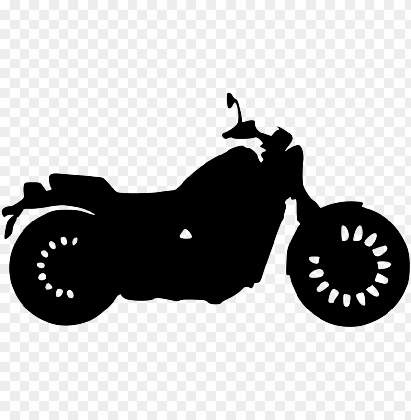 clip art transportation arrowhead harley davidson motorcycle - motorcycle silhouette clip art PNG image with transparent background@toppng.com