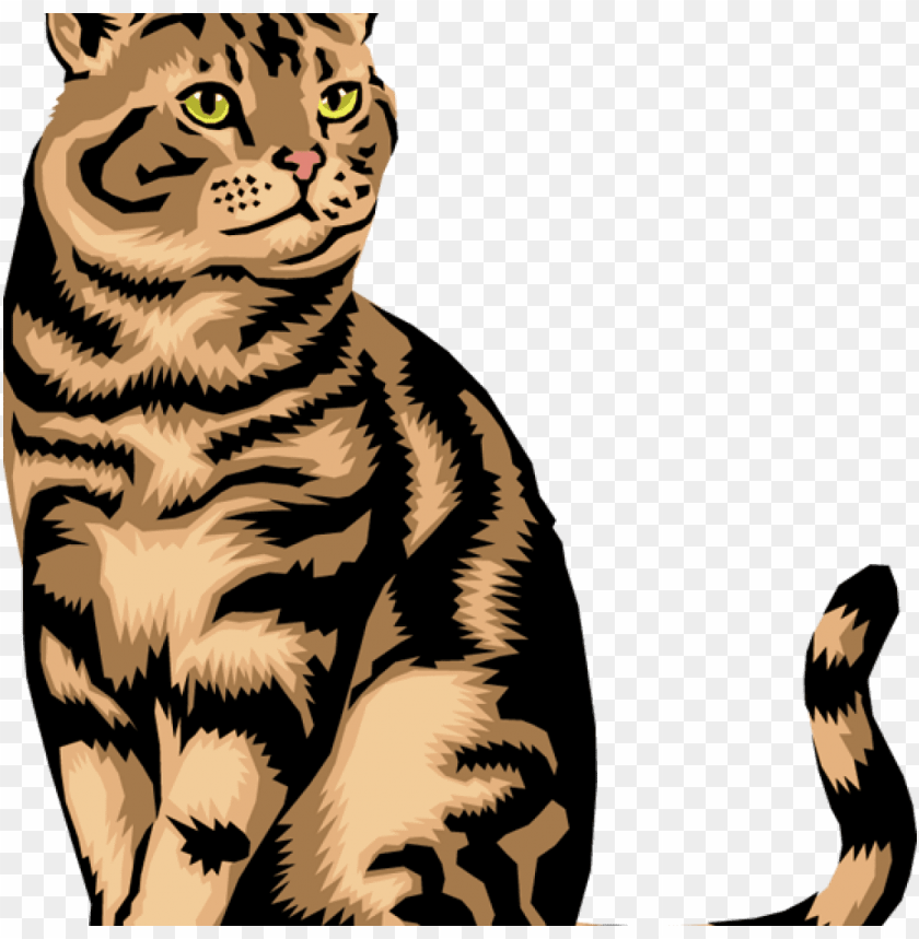 Clip Free Library Cats Vector Real Free Clipart Image Of Cat Png Image With Transparent Background Toppng