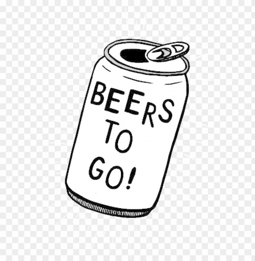 free PNG clipart black and white beer can clipart black and - beer can clipart PNG image with transparent background PNG images transparent