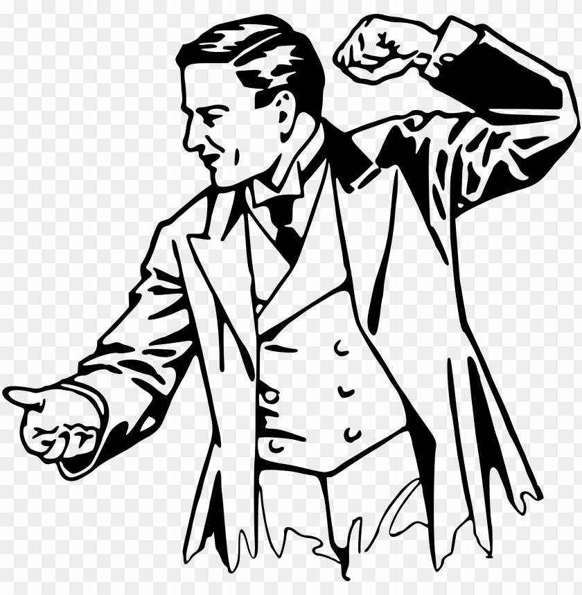 free PNG clipart black and white big image png - angry man clip art black and white PNG image with transparent background PNG images transparent