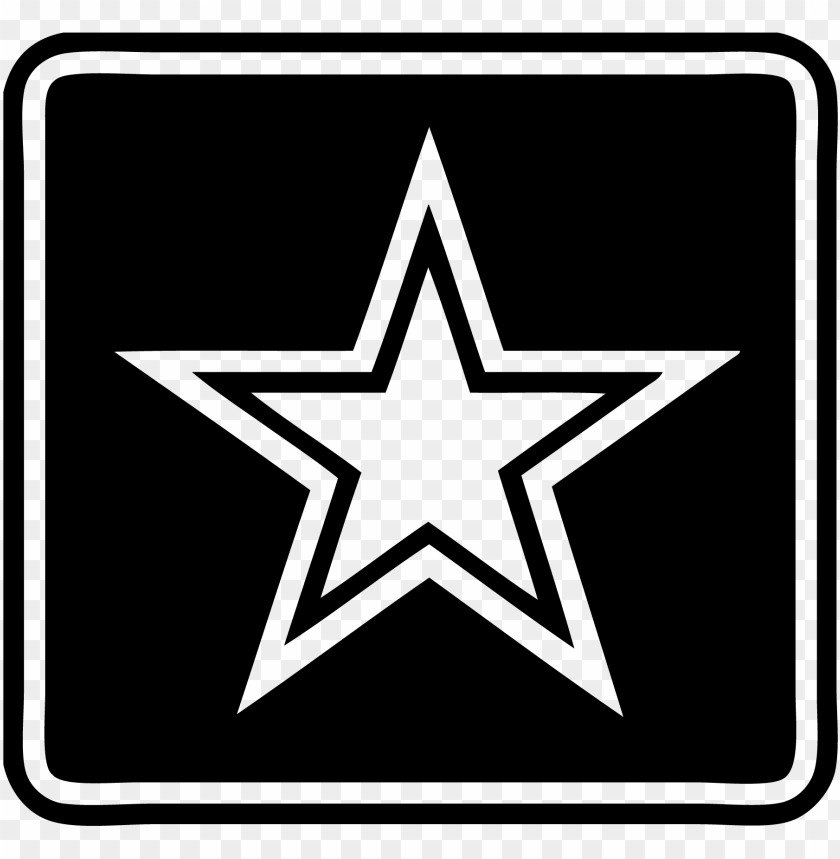free PNG clipart black and white stock military logos army navy - us army logo white PNG image with transparent background PNG images transparent