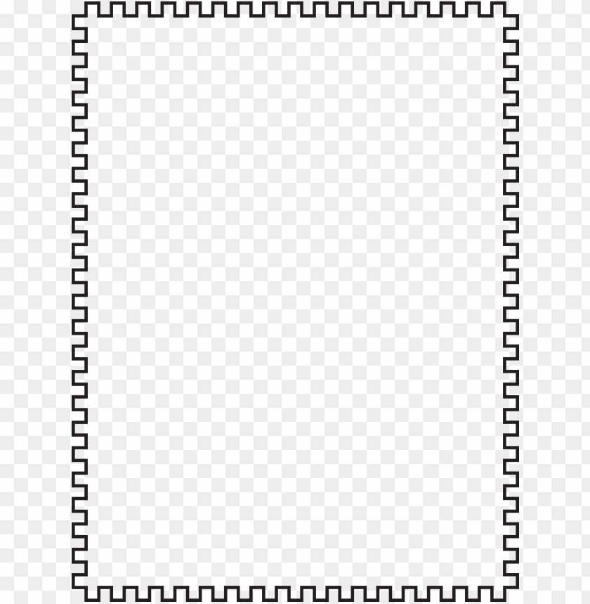 free PNG clipart border less black - white simple frame PNG image with transparent background PNG images transparent