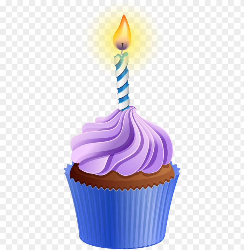 free PNG clipart candle birthday cupcake - cupcake with candle clipart PNG image with transparent background PNG images transparent
