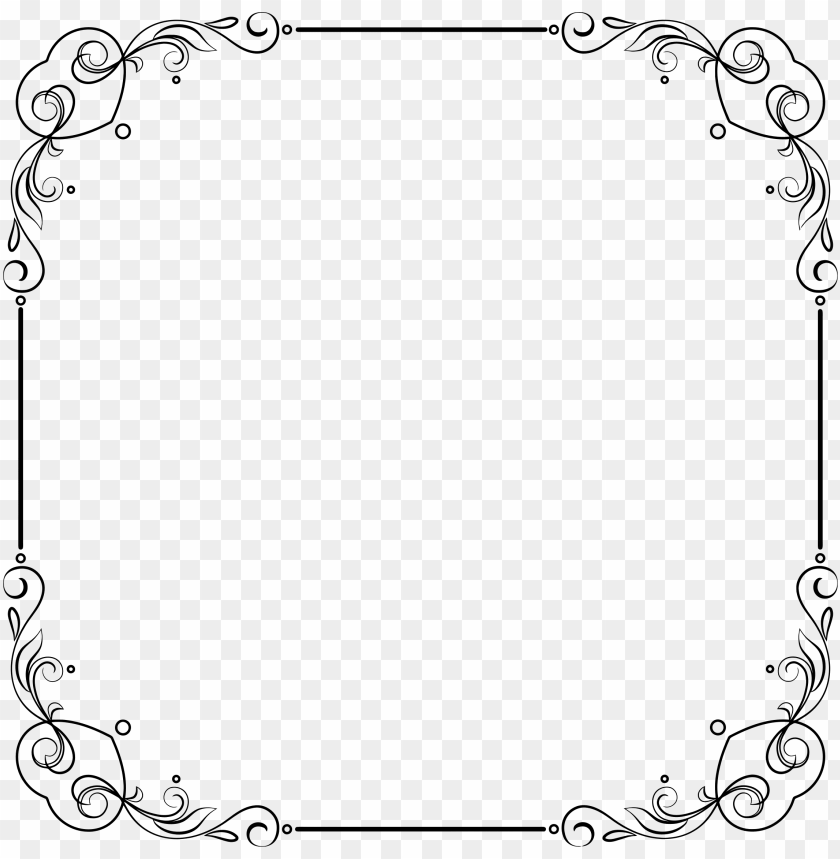 free PNG clipart elegant frame big - scroll border transparent background PNG image with transparent background PNG images transparent