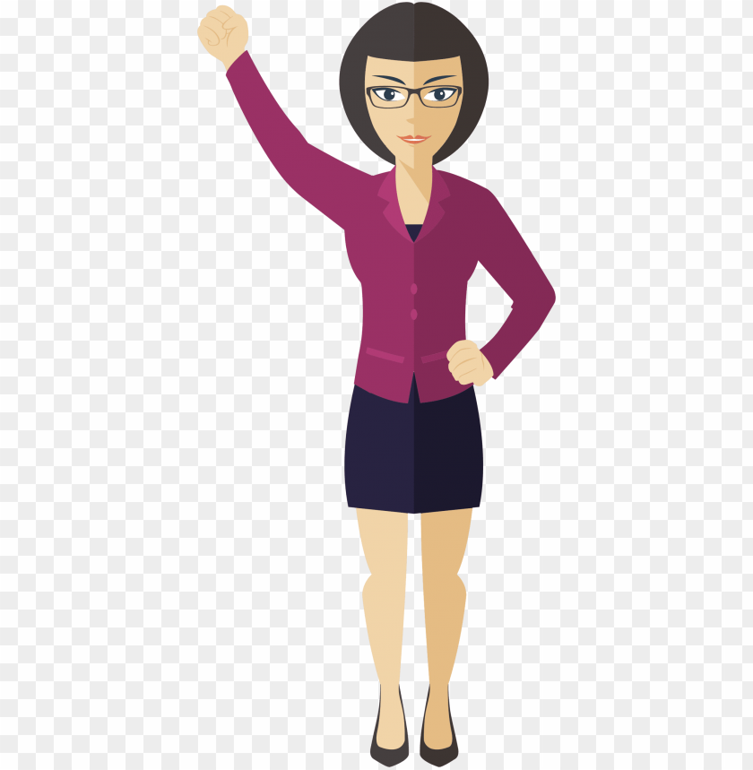 free PNG clipart flat shaded business woman big image png - woman clipart PNG image with transparent background PNG images transparent