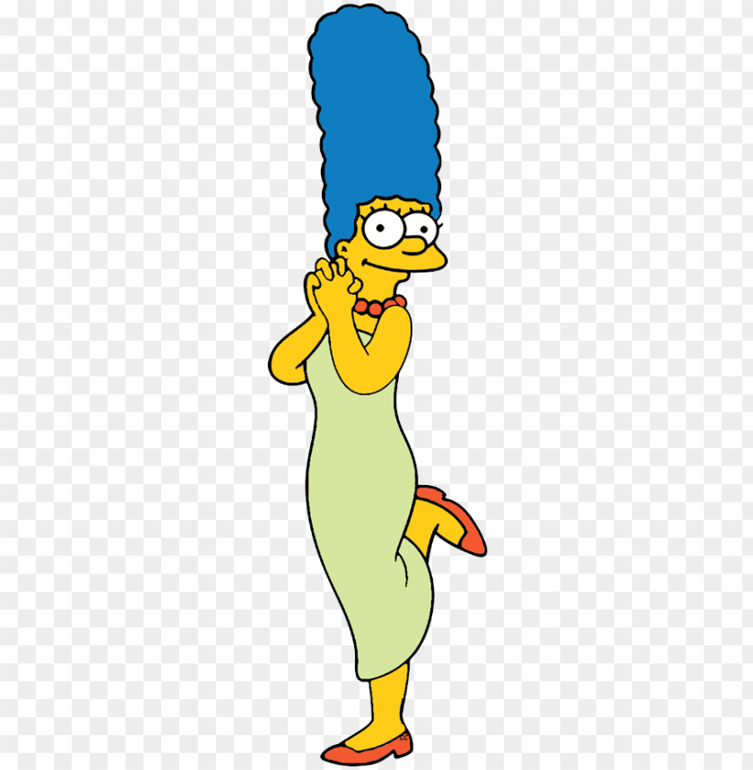 free PNG clipart homer simpson - marge simpson cardboard cutout PNG image with transparent background PNG images transparent
