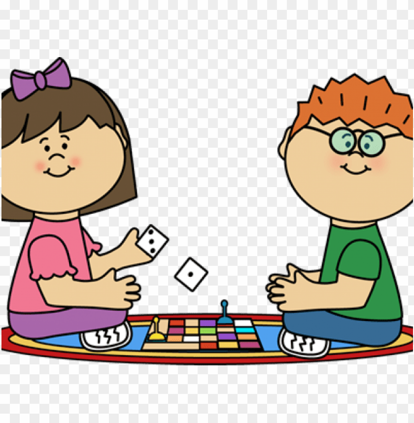 free PNG clipart of children playing board game PNG image with transparent background PNG images transparent