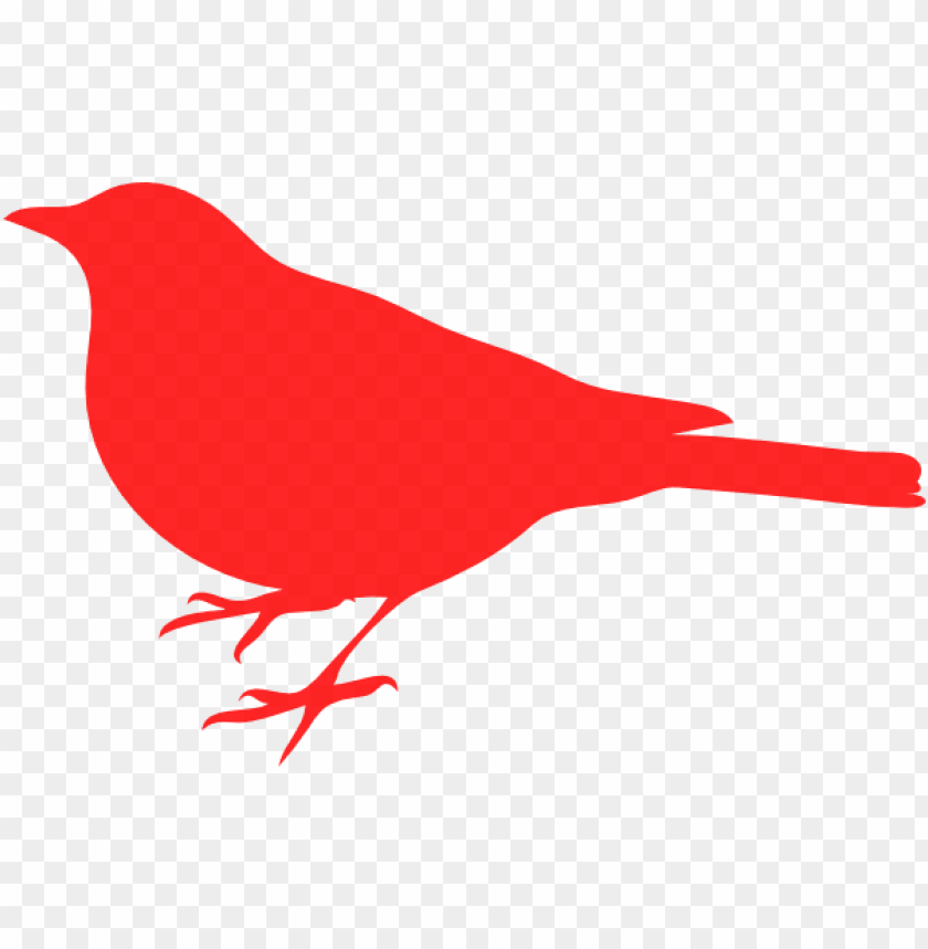 free PNG clipart of red birds love bird clip art at clker com - bird silhouette clip art PNG image with transparent background PNG images transparent