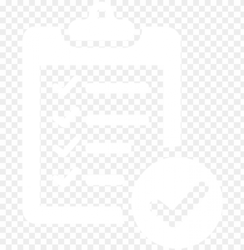 free PNG clipboard symbol white - checklist icon white PNG image with transparent background PNG images transparent