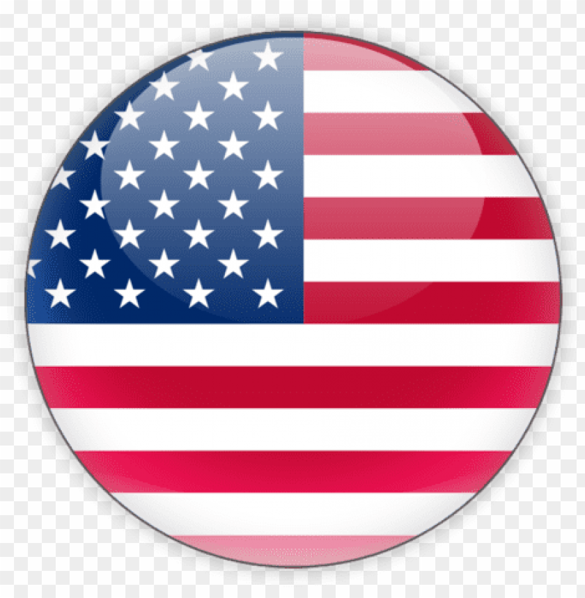 Cliquez Ici Pour La Version Francaise Click Here For Us Flag Icon Round Png Image With Transparent Background Toppng