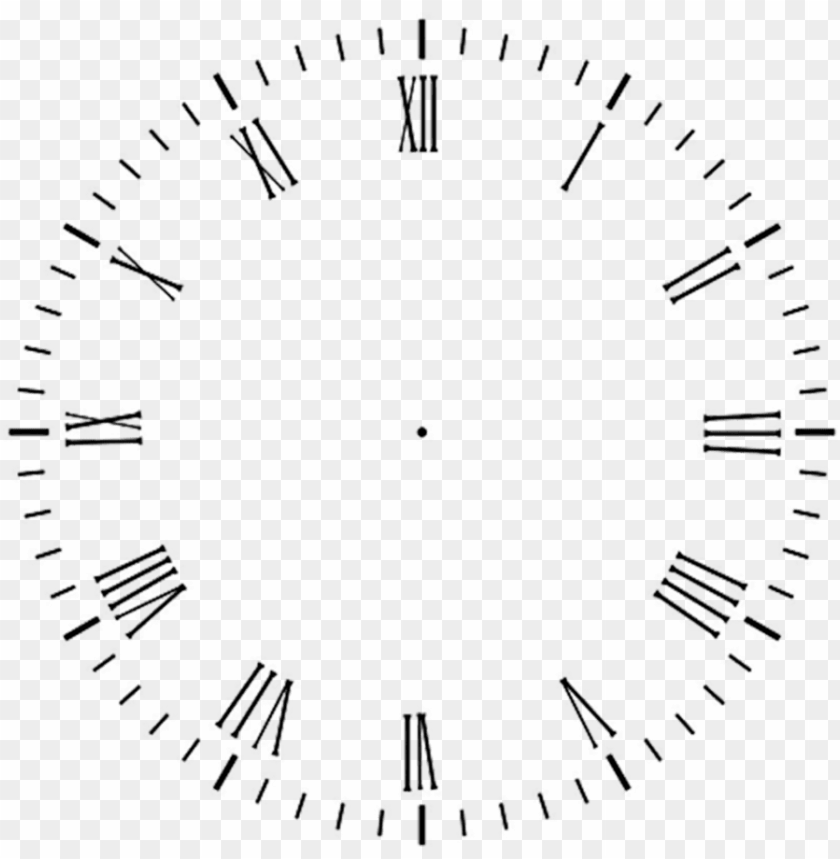 free PNG clock face - template for clock hands PNG image with transparent background PNG images transparent
