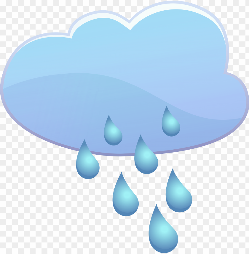 free PNG cloud and rain drops weather icon - rain png - Free PNG Images PNG images transparent