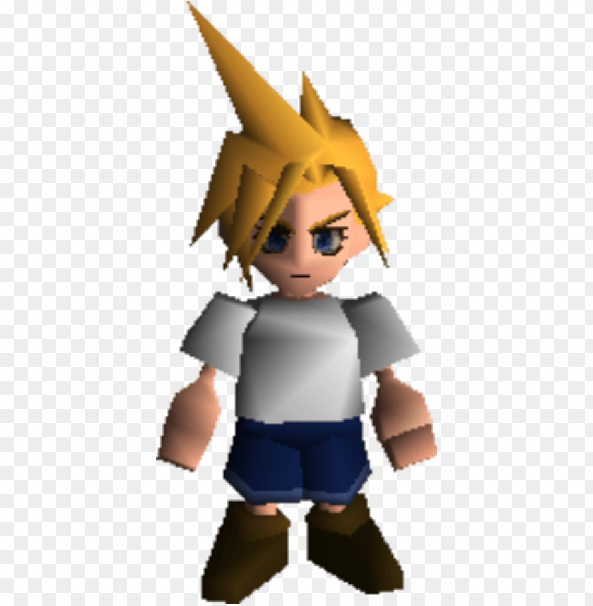 Cloud Strife Young Ffvii Cloud Strife You Png Image With