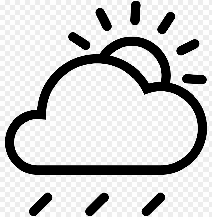 free PNG cloud sun rain comments - cloud and sun icon png - Free PNG Images PNG images transparent
