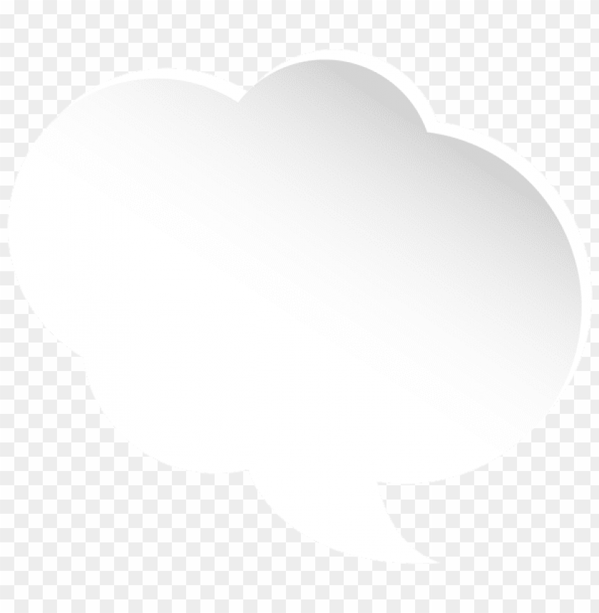 free PNG Download cloud white bubble speech clipart png photo   PNG images transparent