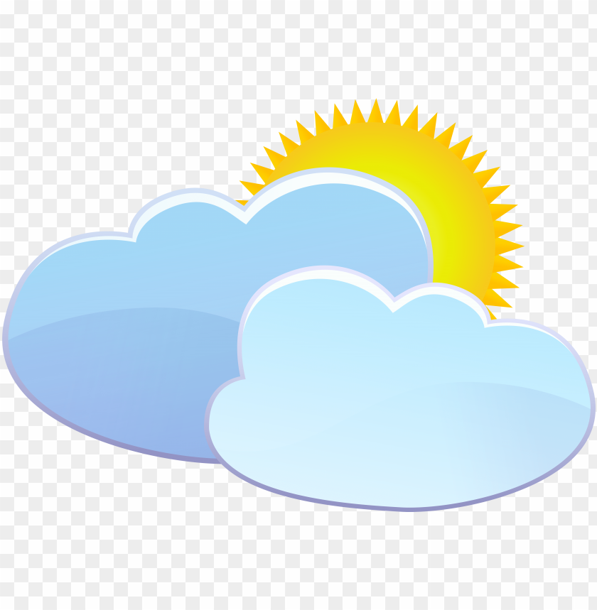 free PNG clouds and sun weather icon - sun weather icon png - Free PNG Images PNG images transparent