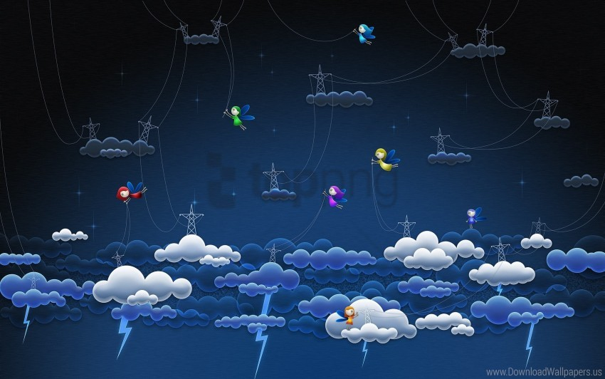 free PNG clouds, stars, thunder-storm wallpaper background best stock photos PNG images transparent