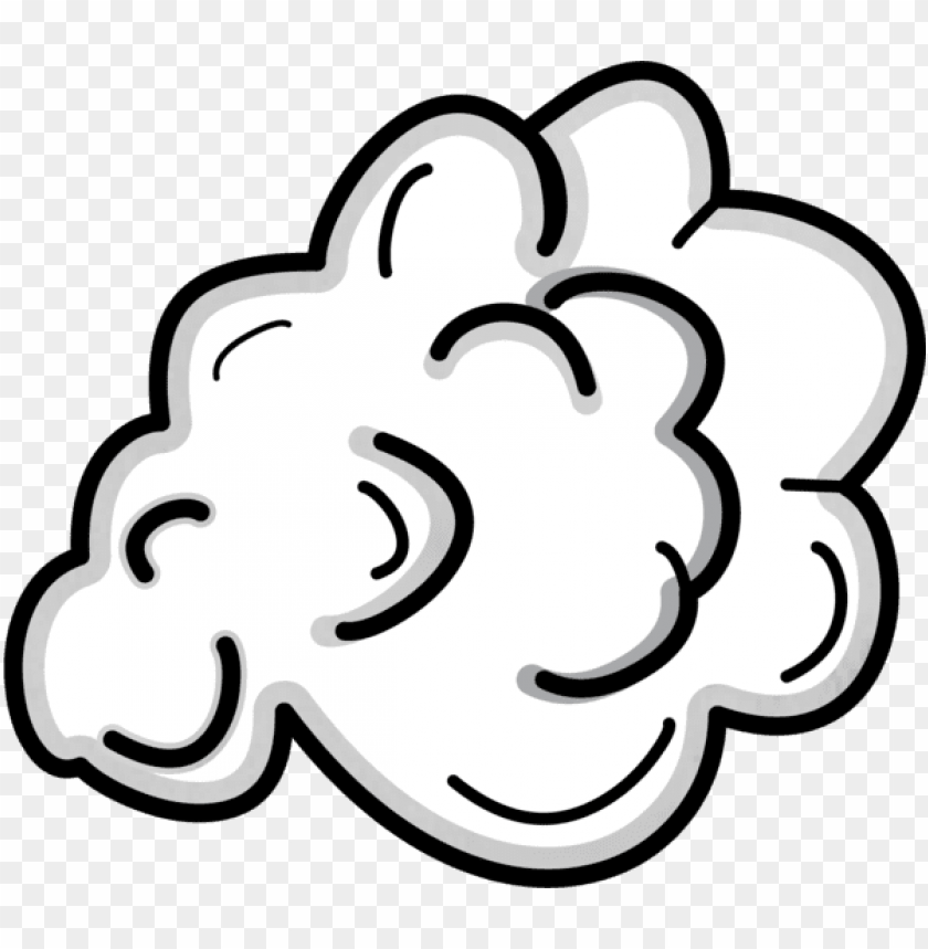 free PNG cloudy clipart smoke cloud - cartoon smoke cloud PNG image with transparent background PNG images transparent