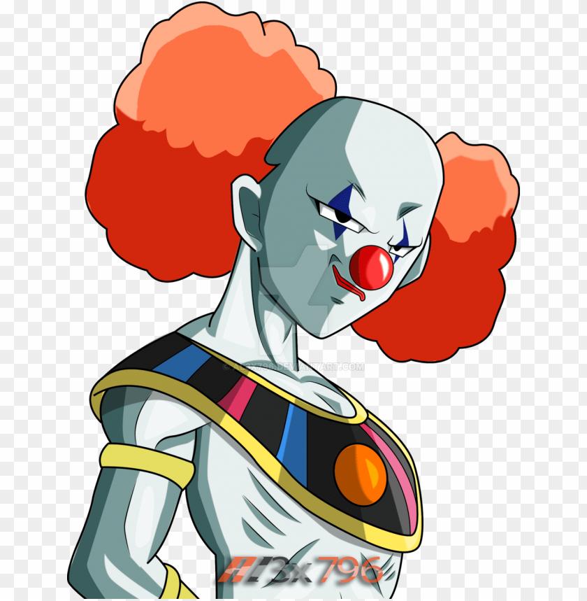 free PNG clown god of destruction dragon ball super PNG image with transparent background PNG images transparent