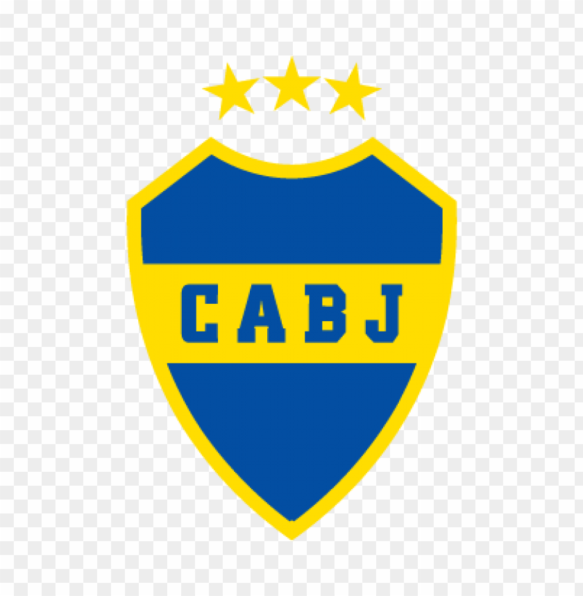 Club Atletico Boca Juniors Logo Vector Free Toppng