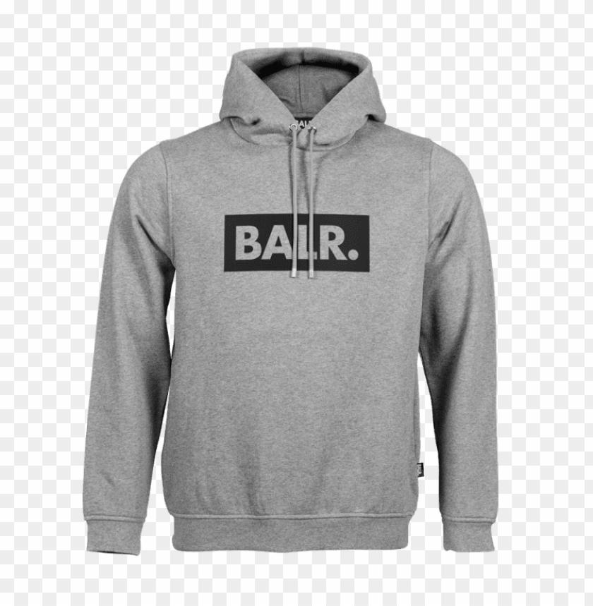 Club Hoodie Grey Balr Hoodie Png Image With Transparent
