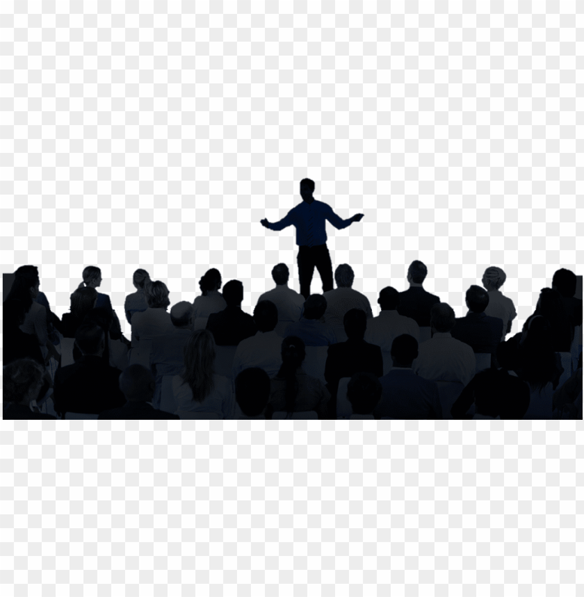 free PNG coaching - audience sitting silhouette PNG image with transparent background PNG images transparent