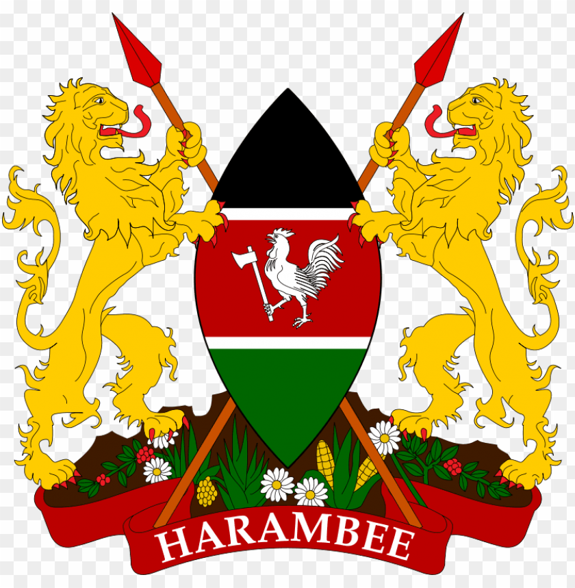 free PNG coat of arms of - kenya coat of arms PNG image with transparent background PNG images transparent