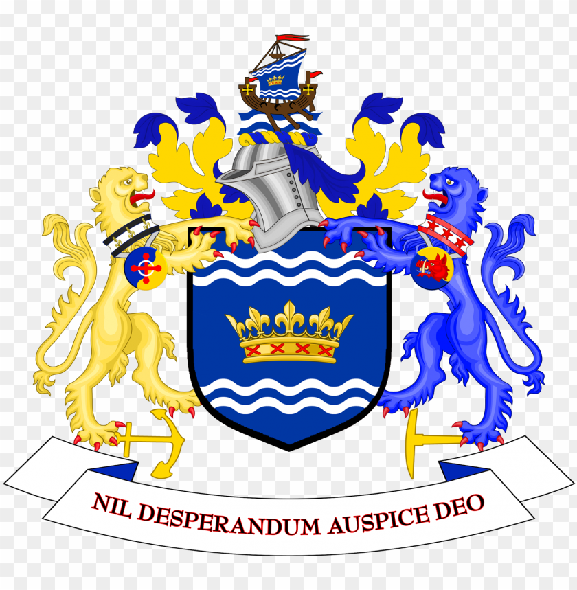 free PNG coat of arms of sunderland city council - burnley coat of arms PNG image with transparent background PNG images transparent