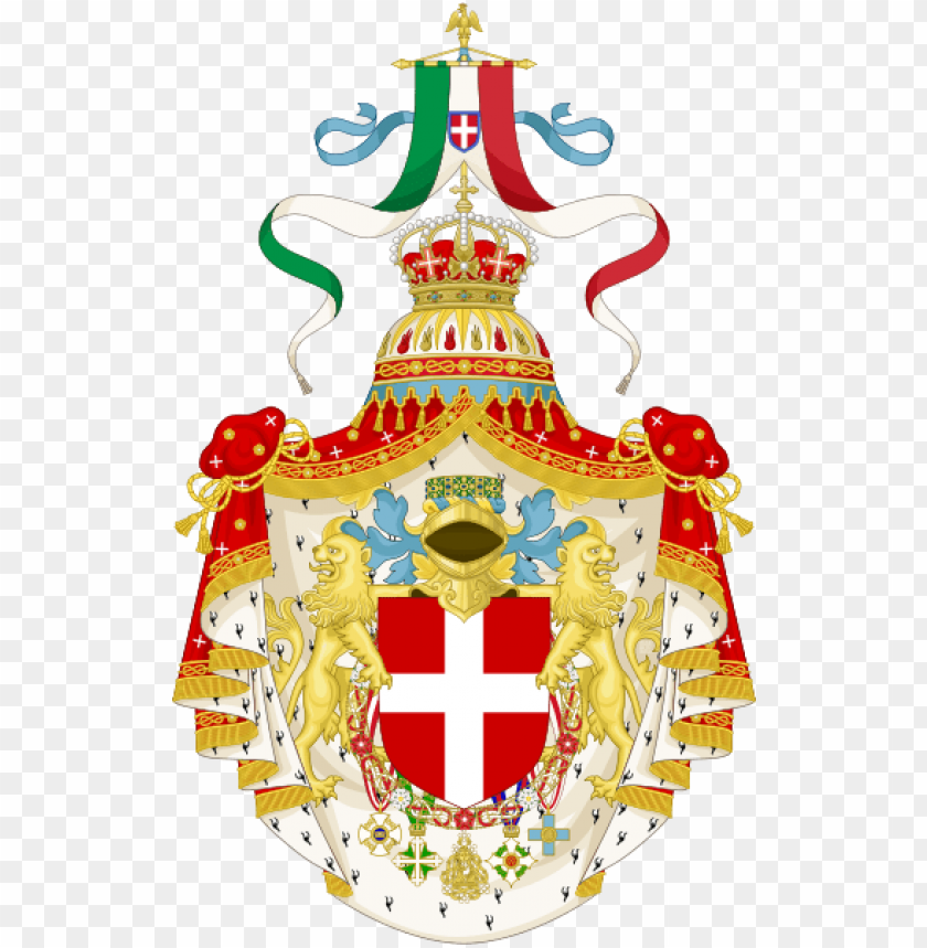 free PNG coat of arms of the kingdom of italy - kingdom of italy coat of arms PNG image with transparent background PNG images transparent
