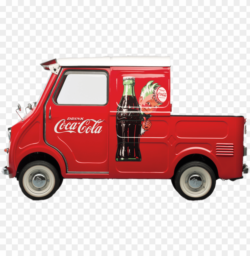 free PNG coca cola pickup delivery truck - westinghouse we-3 coca-cola chest cooler PNG image with transparent background PNG images transparent