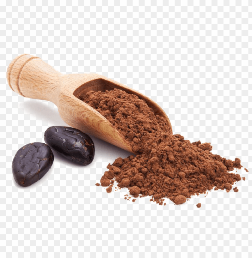free PNG cocoa beans transparent background - addictive wellness raw cacao powder PNG image with transparent background PNG images transparent