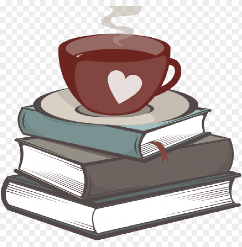 free PNG coffee and books - stack of books black PNG image with transparent background PNG images transparent