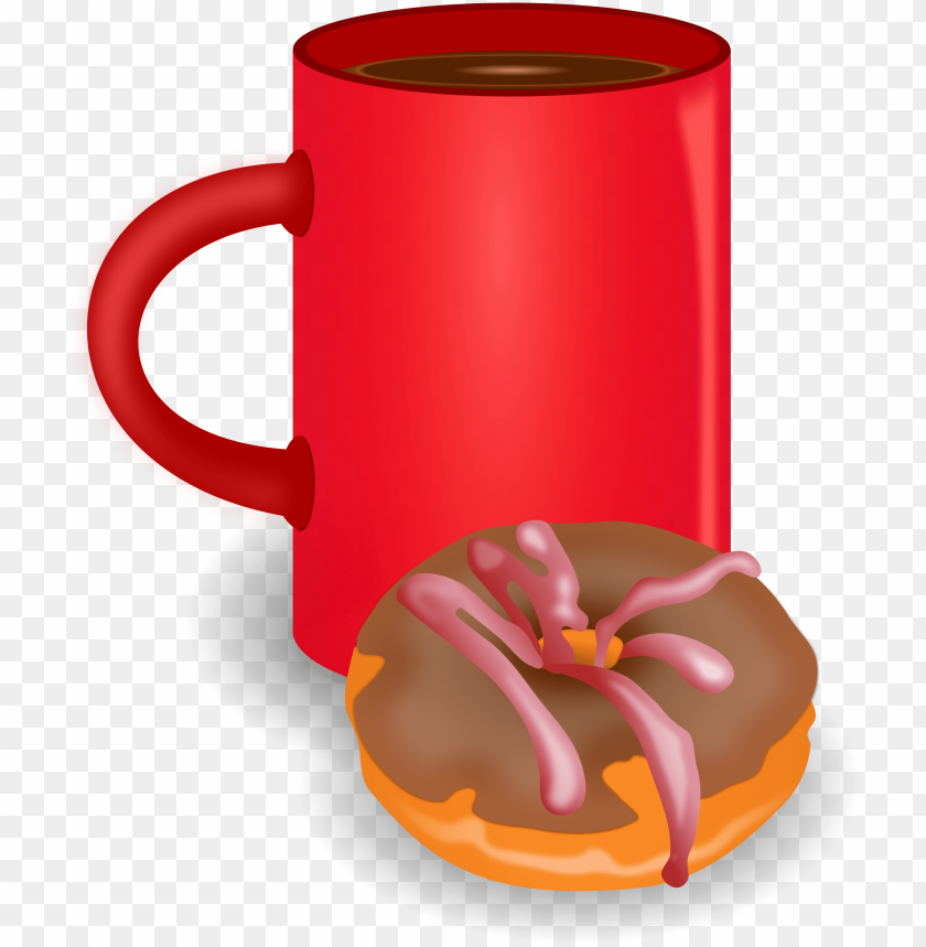 free PNG coffee and donuts clip art free - coffee and donuts PNG image with transparent background PNG images transparent