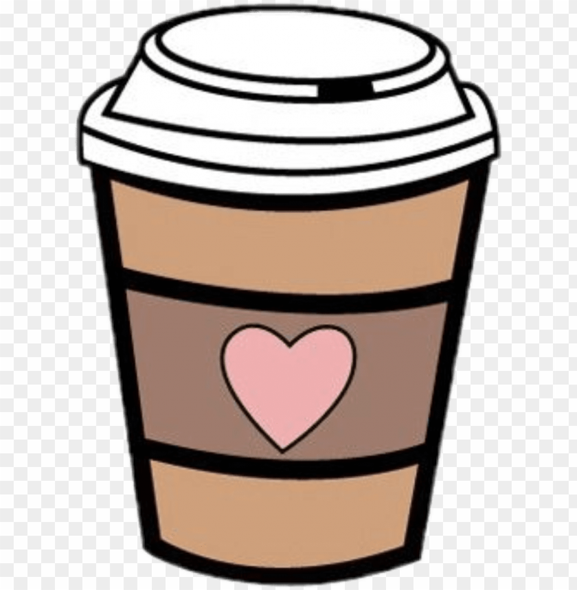 free PNG coffee heart clip free library techflourish collections - starbucks coffee cup clipart PNG image with transparent background PNG images transparent