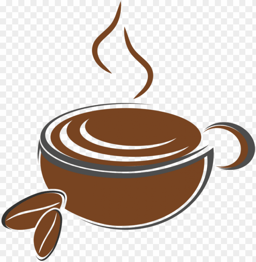 free PNG coffee shop logo royalty free vector - coffee shop logo vector PNG image with transparent background PNG images transparent