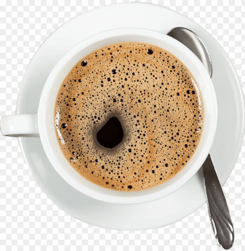 free PNG coffee top view png svg free library - cup of coffee top view PNG image with transparent background PNG images transparent