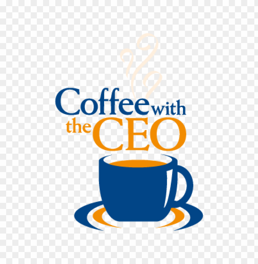 free PNG coffee with the ceo vector logo PNG images transparent