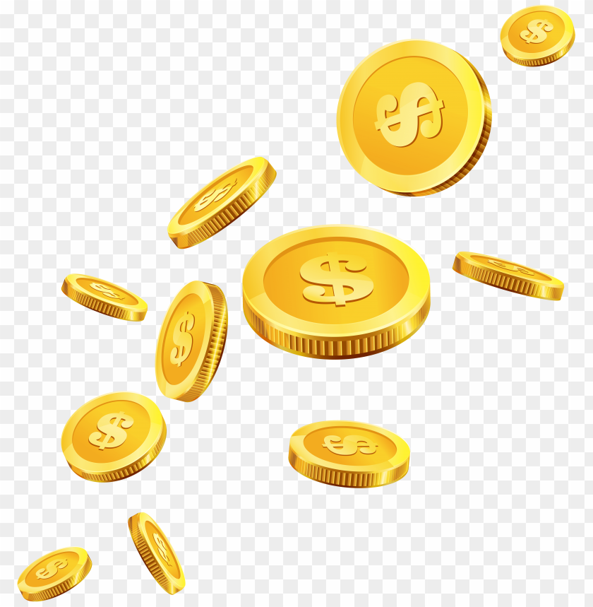 free PNG Download coins gold clipart png photo   PNG images transparent