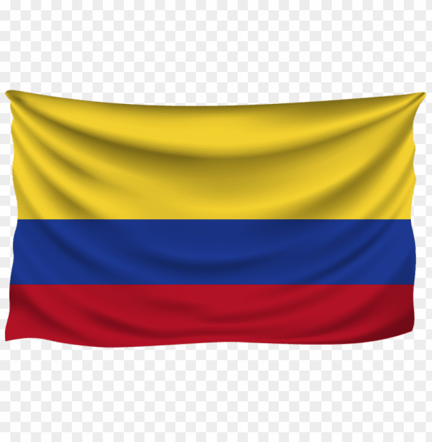 free PNG Download colombia wrinkled flag clipart png photo   PNG images transparent