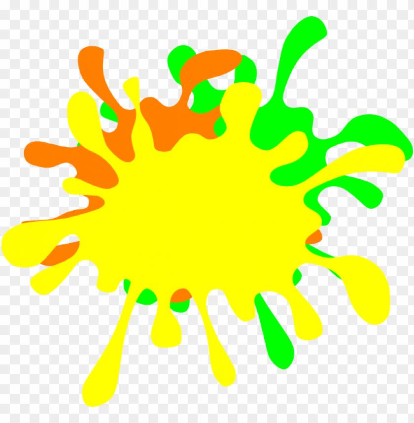 free PNG color splat png transparent - portable network graphics PNG image with transparent background PNG images transparent