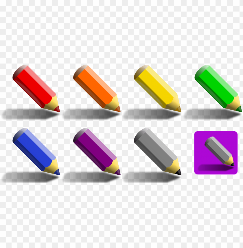 free PNG colored drawing crayon free commercial for use - color pencil PNG image with transparent background PNG images transparent