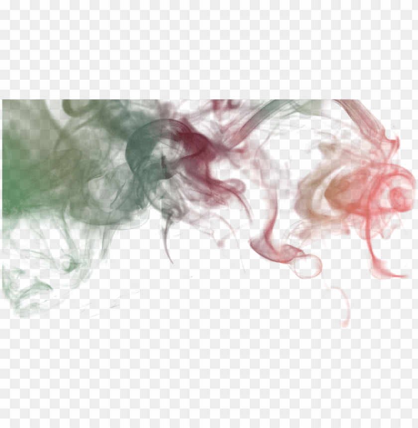 Colored Smoke Design Color Smoke Abstract Png And