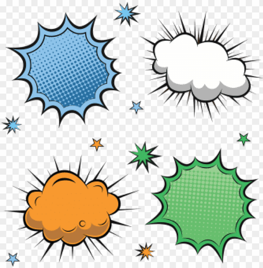 free PNG colorful comic label collection, comic, speech, bubble - comic label PNG image with transparent background PNG images transparent