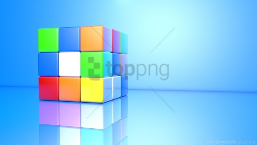 Colorful Cube Face Rubiks Cube Wallpaper Background Best Stock Photos Toppng