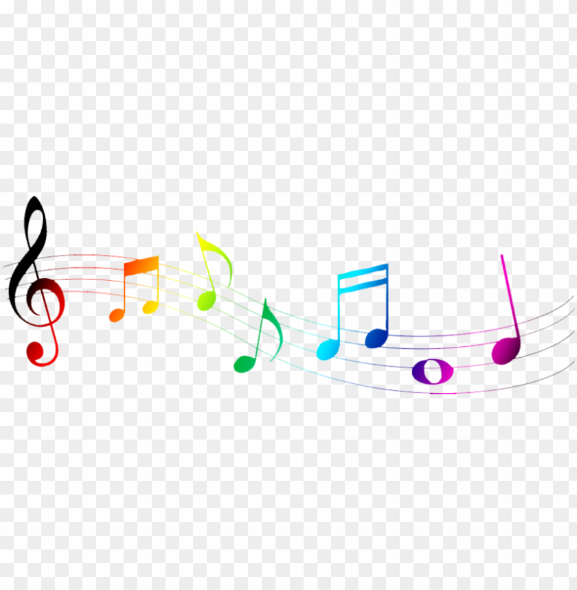 free PNG colorful music notes clipart transparent - colorful music notes symbols PNG image with transparent background PNG images transparent